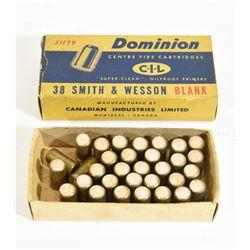 CIL Dominion 38 S&W Blanks