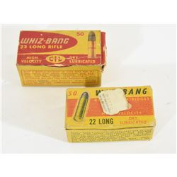 CIL Whiz Bang 22LR Ammunition