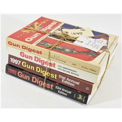 4 Assorted Gun Digest