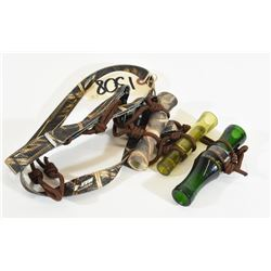 Duck and Goose Calls on Lanyard
