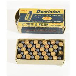 Dominion 32 S&W Ammunition