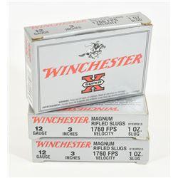 Winchester 12ga Rifled Slugs