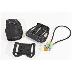 M&P Holsters and Cable Lock with Keys