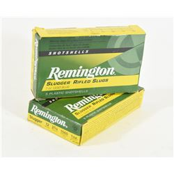 Remington 12ga Slugs