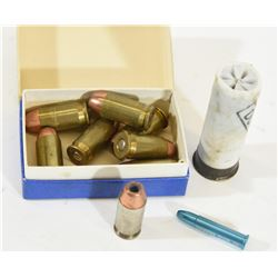 45 Auto Ammo with 12ga and 22 Mag Dummies