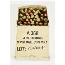 9mm Ball Ammunition