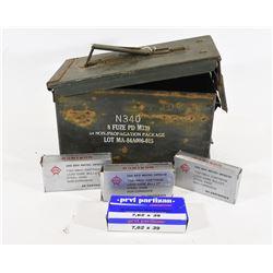 7.62x39 Ammunition in Ammo Can