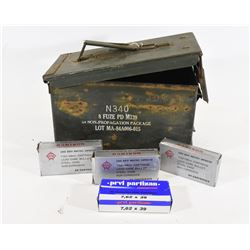 7.62x39 Ammunition in Ammo Can