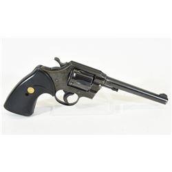 Colt Official Police 22 Handgun