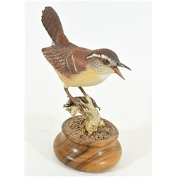 Carved Wren