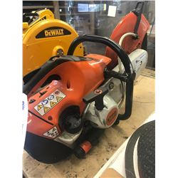 STIHL TS420 GAS POWERED CHOP SAW WITH WATER ATTACHMENT
