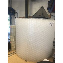 ASSORTED PLASTIC INCLUDING BUBBLE WRAP & PACKING TAP