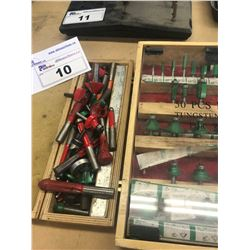 2 CONTAINERS OF ROUTER BITS