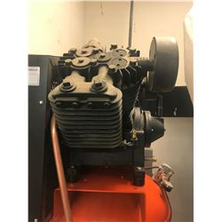 DEVAIR MODEL DEV100 150PSI 7.5 H.P VERTICAL TANK AIR COMPRESSOR & DEVAIR MODEL DEV100