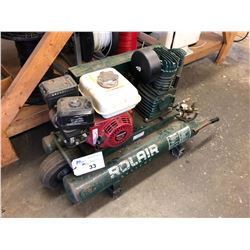 ROLAIR TWIN TANK WHEELBARROW COMPRESSOR