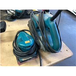 MAKITA BELT SANDER & MAKITA PALM SANDER
