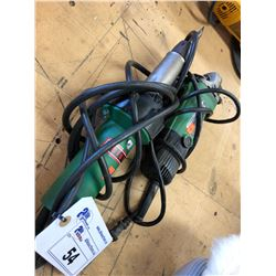HITACHI ANGLE GRINDER & LEISTER BONDING TORCH