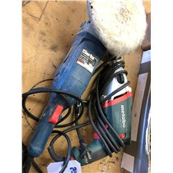 METABO DRILL AND CLARK BUFFER