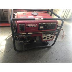 HONDA EM 5000 GAS GENERATOR