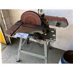 FLOOR MODEL DELTA DISC/BELT SANDER