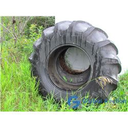 (2) Goodyear 23.1 - 30 Traction Tires