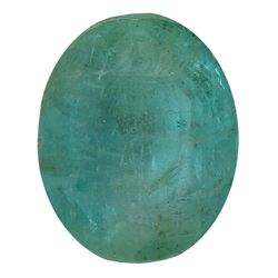 5.55 ctw Oval Emerald Parcel