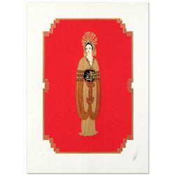 Plum Blossom by Erte (1892-1990)