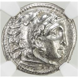 MACEDONIAN KINGDOM: Phillip III, 323-317 BC, AR tetradrachm. NGC EF