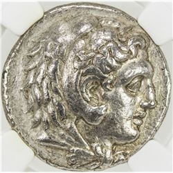 MACEDONIAN KINGDOM: Phillip III, 323-317 BC, AR tetradrachm. NGC VF