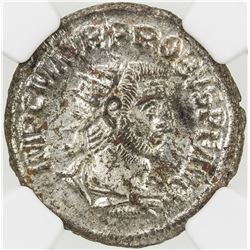 ROMAN EMPIRE: Probus, 276-282 AD, BI antoninianus (3.98g). NGC MS