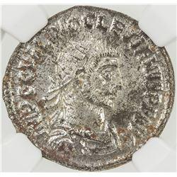 ROMAN EMPIRE: Diocletian, 284-305 AD, BI antoninianus (4.16g), Cyzicus (293-294). NGC MS
