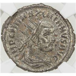 ROMAN EMPIRE: Maximianus, 286-305 AD, AE antoniinianus (3.66g), Antioch (293-294). NGC MS