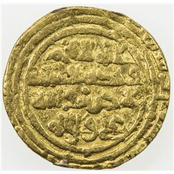 FATIMID: al-Hakim, 996-1021, AV 1/4 dinar (0.88g), MM, DM. F