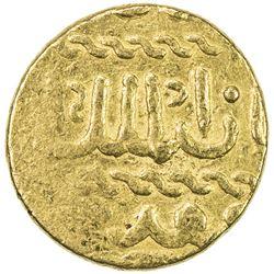BURJI MAMLUK: Khushqadam, 1461-1467, AV ashrafi (3.41g) (Dimashq), ND. VF