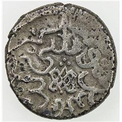 OTTOMAN EMPIRE: Musa Celebi, 1410-1413, AR akce (1.11g), Edirne, AH813. VF