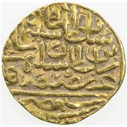 OTTOMAN EMPIRE: Suleyman I, 1520-1566, AV sultani (3.52g), Misr, AH926