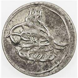 TURKEY: Mustafa IV, 1807-1808, AR para (0.45g), Kostantiniye, AH1222 year 1. AU