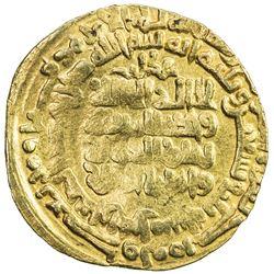 GHAZNAVID: Mahmud, 999-1030, AV dinar (4.29g), Herat, AH393. F-VF
