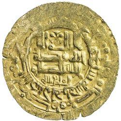 GHAZNAVID: Mahmud, 999-1030, AV dinar (3.27g), Herat, AH407. VF