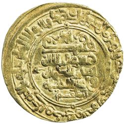 GHAZNAVID: Mahmud, 999-1030, AV dinar (3.68g), Herat, AH418. VF