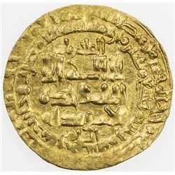 GREAT SELJUQ: Tughril Beg, 1038-1063, AV dinar (2.74g), Nishapur, AH439. EF