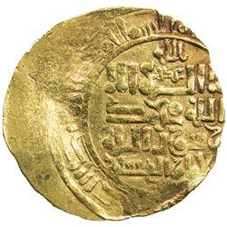 GREAT SELJUQ: Sanjar, 1118-1157, AV dinar (3.64g) (Nishapur), DM. F