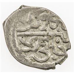 GIRAY KHANS: Mengli Giray I, 1466-1514, AR akce (0.66g), Kaffa, AH899. VF-EF