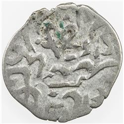 GIRAY KHANS: 'Inayat Giray, 1635-1637, AR akce (0.24g), Baghcha-Saray, AH1044. VF
