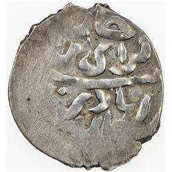 GIRAY KHANS: Selim Giray I, 1st reign, 1671-1678, AR beshlik (1.33g), Baghcha-Saray, AH[10]82. VF