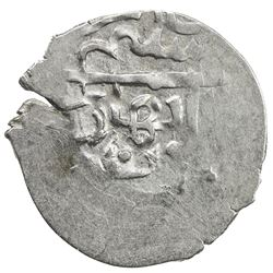 GIRAY KHANS: Selim Giray I, 2nd reign, 1684-1691, AR akce (0.27g), Baghcha-Saray, AH[1]095. VF-EF