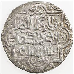 ILKHAN: Abu Sa'id, 1316-1335, AR 2 dirhams (3.56g), Khabushan, AH720. VF-EF