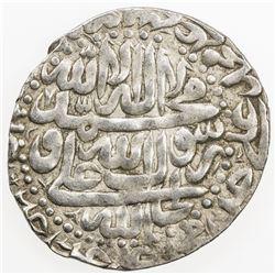 SAFAVID: 'Abbas III, 1732-1735, AR abbasi (5.46g), Rasht, AH1147. EF