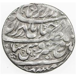 AFSHARID: Nadir Shah, 1735-1747, AR abbasi (5.39g), Mashhad, AH114x. VF