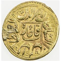 QAJAR: Nasir al-Din Shah, 1848-1896, AV toman (3.51g), Qazwin, AH1271. EF